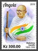 2020-01- ANGOLA- Stamps Face Value Price  GANDHI  1V      MNH** - Angola