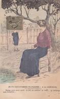Gauloiseries Françaises  . A LA CAMPAGNE . Précaution Exagérée . Illust. JIM - Illustrators & Photographers