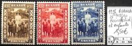 D - [841355]TB//**/Mnh-Ruanda-Urundi 1936 - N° 108/10, Rein Astrid Et Enfants, SNC - Ruanda-Urundi