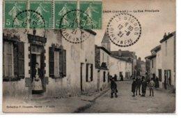 Le Bignon-La Rue Principale - France