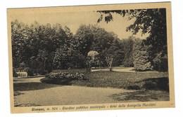 4041 - GIAVENO TORINO GIARDINO PUBBLICO MUNICIPALE DONO DELLA DAMIGELLA MARCHINI  1940 CIRCA - Italia