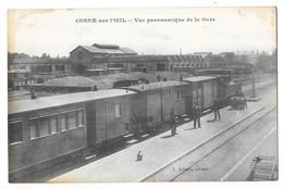 COSNE SUR L'OEIL (03) Train En Gare Chemin De Fer Du Tacot - Other Municipalities