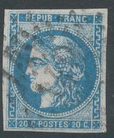 Lot N°52763  N°45A, Oblit GC 1407 Ernée, Mayenne (51), Bonnes Marges - 1870 Ausgabe Bordeaux