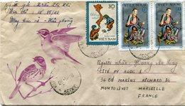 VIET-NAM LETTRE DEPART HAIPHONG 28-11-78 VIET-NAM POUR LA FRANCE - Vietnam