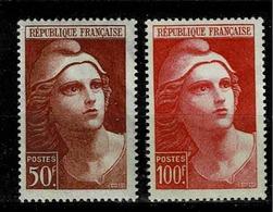 TP N°752 Et 753,  Timbres Neufs Sans Charnière - Unused Stamps