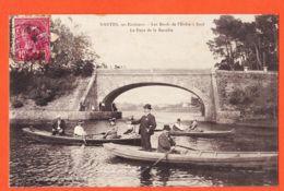 MAR019 Peu Commun SUCE Environs De NANTES (44) Pont De LA RECULEE Canotage Sur Les Bords L' ERDRE1900s Collection G.I.D - Altri Comuni