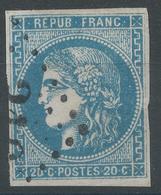 Lot N°52765  N°46A, Oblit GC, Bonnes Marges - 1870 Emissione Di Bordeaux