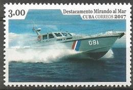 Cuba 2016 / Anti-drug Boat Ships MNH Barcos Antidroga Bateaux Schiffe / Cu3401  C2-11 - Bateaux