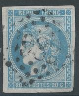 Lot N°52767  N°46B Outremer ???, Oblit GC 3982 Toulouse, Haute-Garonne (30), Bonnes Marges - 1870 Ausgabe Bordeaux