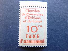 Exceptionnel Et Très Rare Timbre De Grève N°. 3** Bord De Feuille Dans Le Catalogue Maury - Strike Stamps