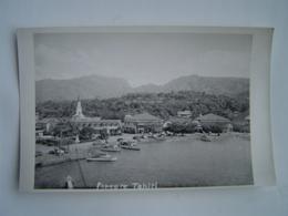 CARTE POSTALE Ancienne : ETABLISSEMENTS DONALD / PAPEETE / TAHITI / OCEANIE / FRANCE 1950 - Tahiti