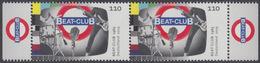 !a! GERMANY 2019 Mi. 3503 MNH Horiz.PAIR W/ Right & Left Margins (b) - German TV-legends: Beat-Club - Unused Stamps