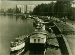 AK GERMANY - DRESDEN - BLICK AUF DIE BRUHL'SCHE TERASSE  - FOTO CTK - CZECH EDITION 1950s (BG7912) - Dresden