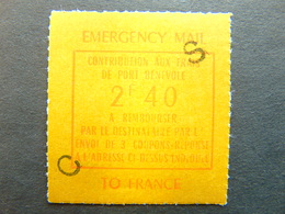 Timbre De Grève N°. 24** - Strike Stamps