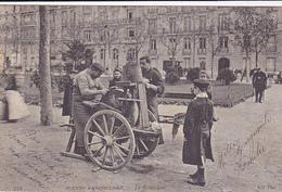 Cpa  -75- Paris-scenes Parisiennes- Le Remouleur-animée-edi N.D. N°742 - Artisanry In Paris