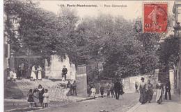 Cpa  -75- Paris-18e Arr.-animée-rue Girardon-edi L.P. N°68 - Arrondissement: 18