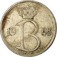 Monnaie, Belgique, 25 Centimes, 1968, Bruxelles, TB+, Copper-nickel, KM:154.1 - 1951-1993: Baudouin I