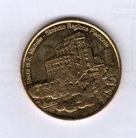 Médaille Touristique D'italie : Sacra Di Michele Simbolo Regione Piemonte / Beato Antonio Rosmini - Autres