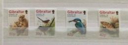 Gibraltar 1999 Par4ks And Gardens Flora And Fauna Set MNH - Gibraltar