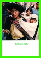 HUANCAYO, PÉROU - MUJER CON NINO - YOUNG WOMAN WITH CHILD - EDICIONES DE ARTE FOTO 1966 - - Pérou