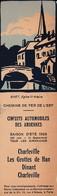 Marque'pages - Chemins De Fer De L'Est - Circuits Automobiles Des Ardennes - Marque-Pages