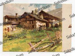 1941 - BREUIL - Rustico - G. Palanti - Illustratore Arte Pittura - Cervinia -  Valtournenche Valle D'Aosta Aosta - Italy