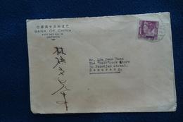 Netherlands Indies : Old Cover BANK OF CHINA BATAVIA To SEMARANG ('41) - Netherlands Indies