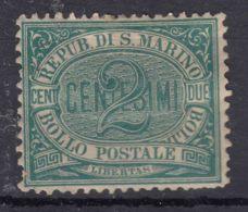 San Marino 1877 Mi#1 Mint Hinged - Saint-Marin
