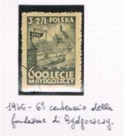 POLONIA (POLAND) - SG 562 - 1946 600^ ANNIVERSARY OF BYDOGOSZCZ      - USED°  - RIF. CP - 1944-.... République