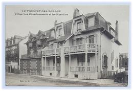 """Le Touquet -Paris- Plage - """"Villas Les Chardonnerets Et Les Myrtilles"""" - Edit. A.H. - Le Touquet"""