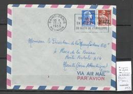 Reunion - Lettre De Saint Denis - 1959 - Réunion (1852-1975)