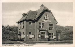 PAYS BAS  ZOUTELANDE  HOTEL PENSION HAGA  ............ Carte Peu Courante - Zoutelande