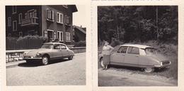 Lot De 2 Cpa ( Photos ) -auto -voiture Citroen ID 19-personnage - Toerisme