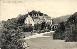 Cp Altenstein Bad Liebenstein Im Wartburgkreis, Blick Zum Schloss Mit Umgebung - Duitsland