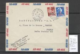Reunion - Lettre  De SAINT PIERRE - 1959 - Réunion (1852-1975)