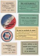 TRACTS PAPILLONS PROPAGANDE POLITIQUE ANNEES 20 30 ??? A VOIR PSF  ROYALISTE ??? - Documents Historiques