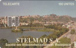 MADAGASCAR - Antananarivo, Stelmad S.A. First Issue 100 Units, CN : C4A147200, Used - Madagaskar