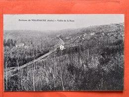 CPA (10) Environs De Villenauxe.Vallée De La Noxe.Ligne De Chemin De Fer. (N008) - Andere Gemeenten