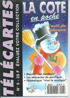 TELECARTES - LA COTE EN POCHE N° 5  - 1992 - Télécartes