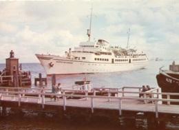 """Seebäderschiff """"Wappen Von Hamburg"""", Gelaufen - Paquebote"""