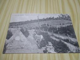 Hautes-Vosges (88).Cimetière Allemand Du Baerenstall Près Du Schratzmaennle. - France