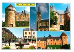 61 - Gacé - Multivues - Carte Neuve - Voir Scans Recto-Verso - Gace