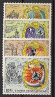 Centrafricaine - 1978 - N°Yv. 336 à 339 - PTT - Neuf Luxe ** / MNH / Postfrisch - Centraal-Afrikaanse Republiek
