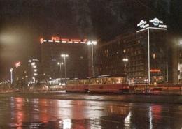 Tram/Strassenbahn Warszawa/Warschau,Ulica Marszalkowska, Ungelaufen - Tramways