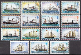 Falkland Used Set Without Issue Year - Ships