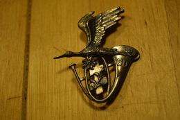 Rare Insigne Chasseurs Alpins 60 - Heer