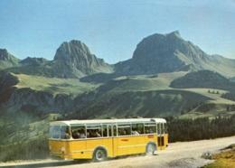 Schweizer Postbus,Gurnigel Passhöhe, Ungelaufen - Busse & Reisebusse