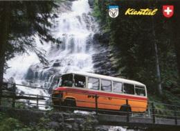 Schweizer Postbus Mercedes,Kiental, Gelaufen - Busse & Reisebusse