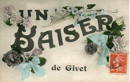 GIVET.  Un Baiser - Givet