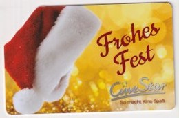 GC 22656 GERMANY - Cine Star - Gift Cards
